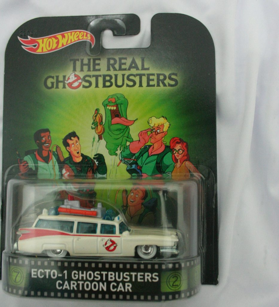 Ghostbuster hot wheels langka diecasnesia