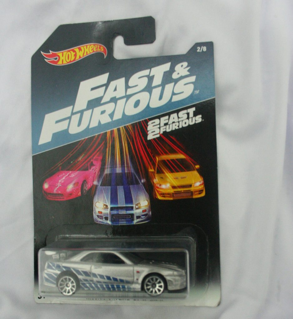 Nissan Skyline hot wheels langka Fast and Furious diecasnesia