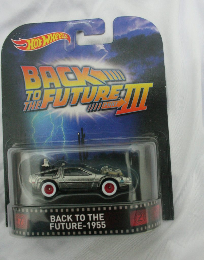 back to the future III hot wheels langka diecasnesia