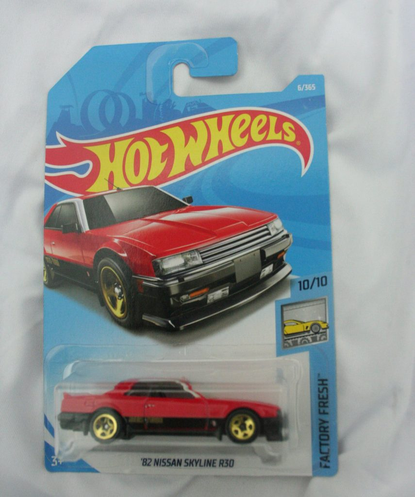 nissan skyline R30 hot wheels langka diecasnesia