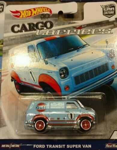 Ford - Hot Wheels Langka Cargo Carriers Complete Set
