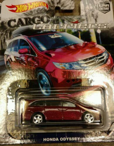 Honda Odyssey - Hot Wheels Langka Cargo Carriers Complete Set