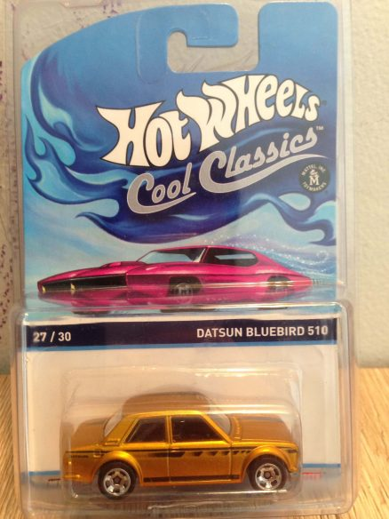 Hot Wheels Cool Classics Datsun Bluebird 510