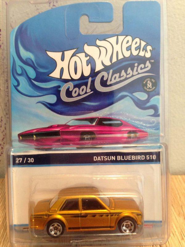 Hot Wheels Cool Classics Datsun Bluebird 510
