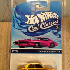 Hot Wheels Cool Classics Datsun Bluebird 510 - tanpa protector - diecasnesia