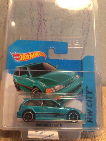 Hot Wheels Langka 1990 Honda Civic EF Tosca dengan protector