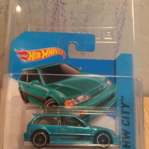 Hot Wheels Langka 1990 Honda Civic EF Tosca dengan protector