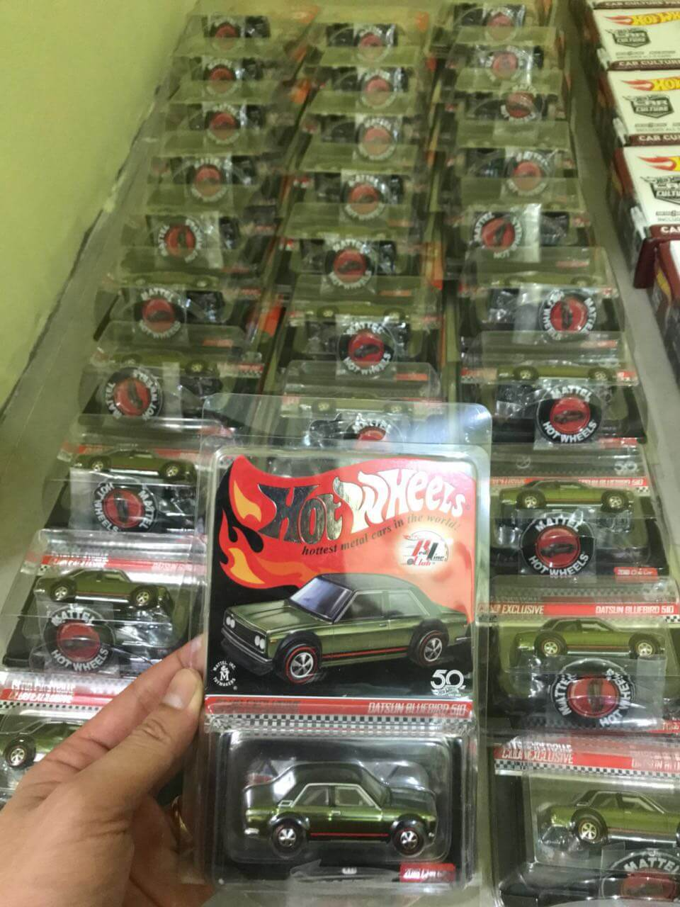 Hot Wheels Langka 2018 Red Line Club Datsun Bluebird 510