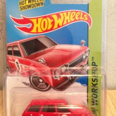 Hot Wheels Langka 71 Datsun Bluebird 510 Wagon Merah