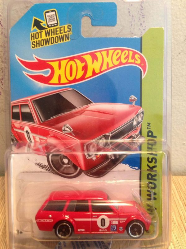 Hot Wheels Langka 71 Datsun Bluebird 510 Wagon Merah