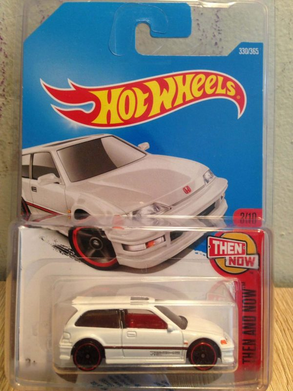 Hot Wheels Langka 90 Honda Civic EF Putih