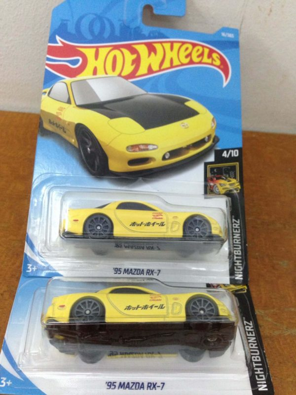 Hot Wheels Langka 95 Mazda RX-7 Kuning