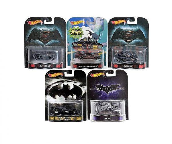 Hot Wheels Langka Batman Movie Retro Series