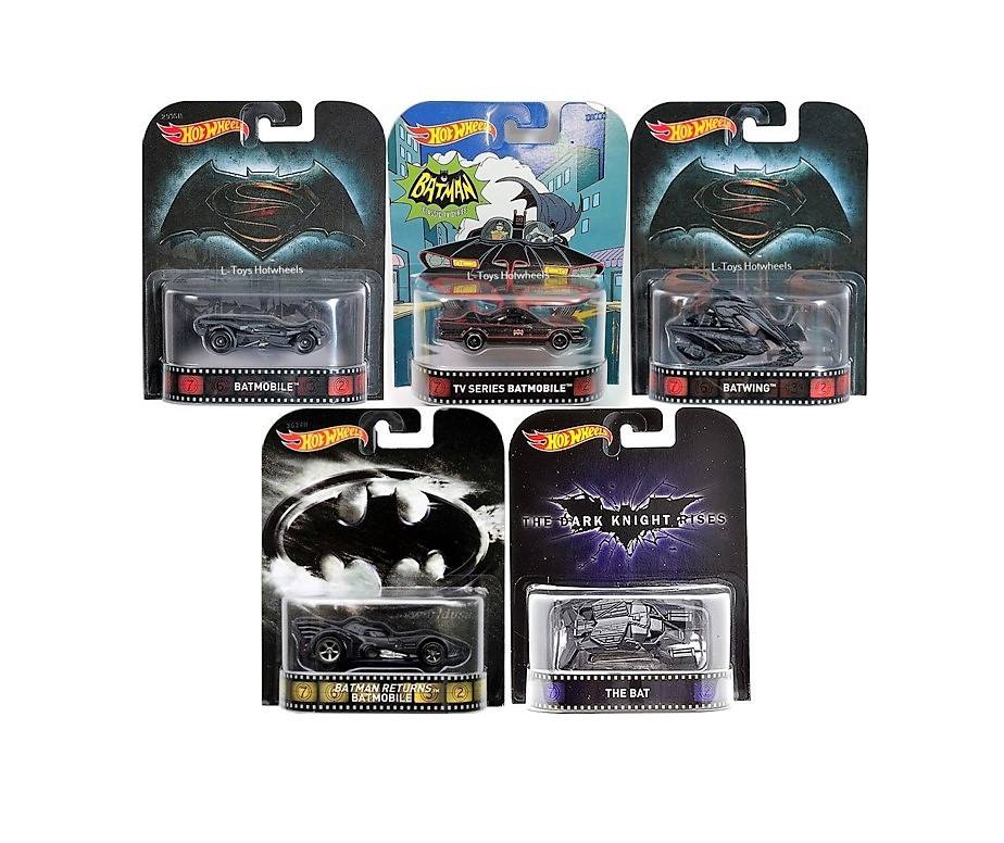 Hot Wheels Langka Batman Movie Retro Series