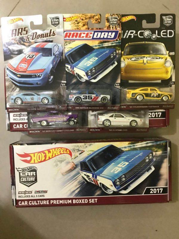 Hot Wheels Langka Car Culture Premium Boxed Set