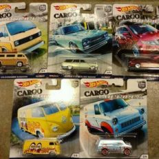 Hot Wheels Langka Cargo Carriers Complete Set Diecasnesia