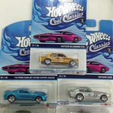 Hot Wheels Langka Cool Classic complete set