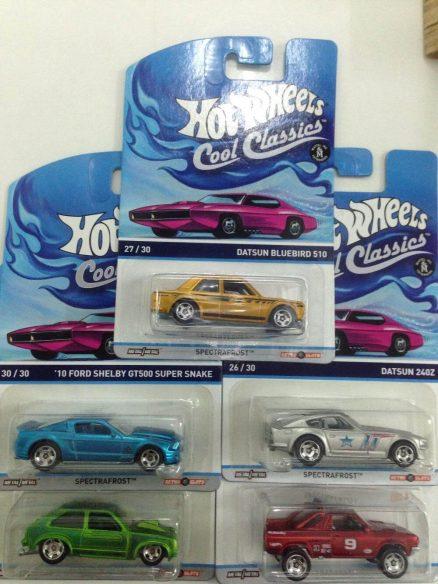 Hot Wheels Langka Cool Classic complete set