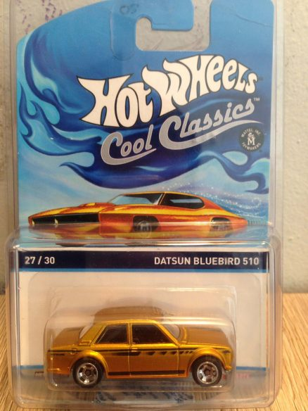 Hot Wheels Langka Cool Classics Datsun Bluebird 510 - 1