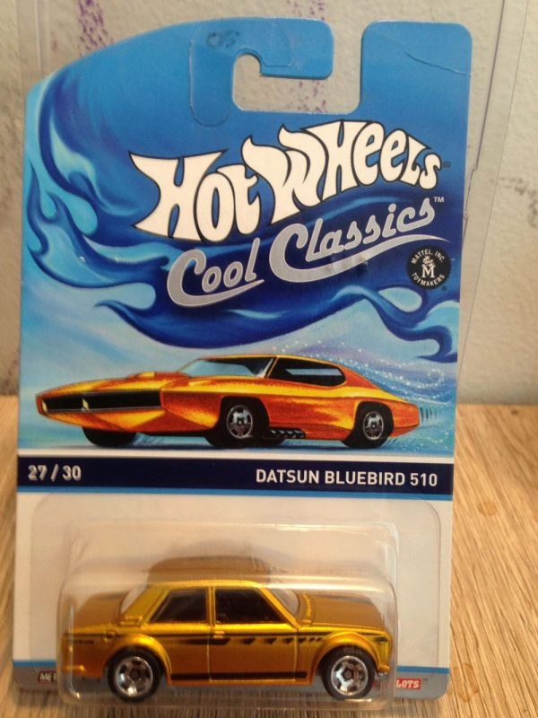 Hot Wheels Langka Cool Classics Datsun Bluebird 510 - tanpa protector 1 diecasnesia