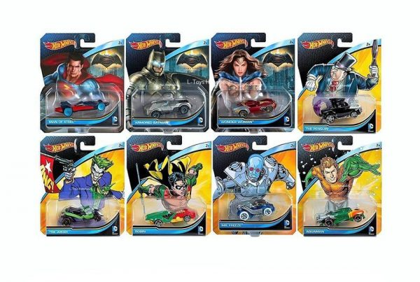 Hot Wheels Langka DC Comic Movie Series