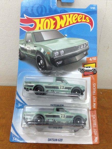 Hot Wheels Langka Datsun 620 Army Diecasnesia