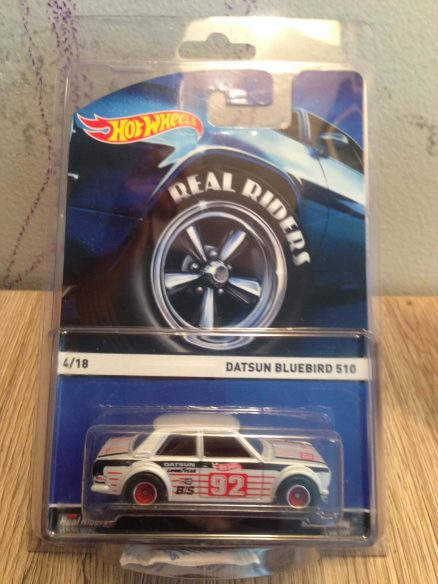 Hot Wheels Langka Datsun Bluebird 510 Real Riders dengan protecttor