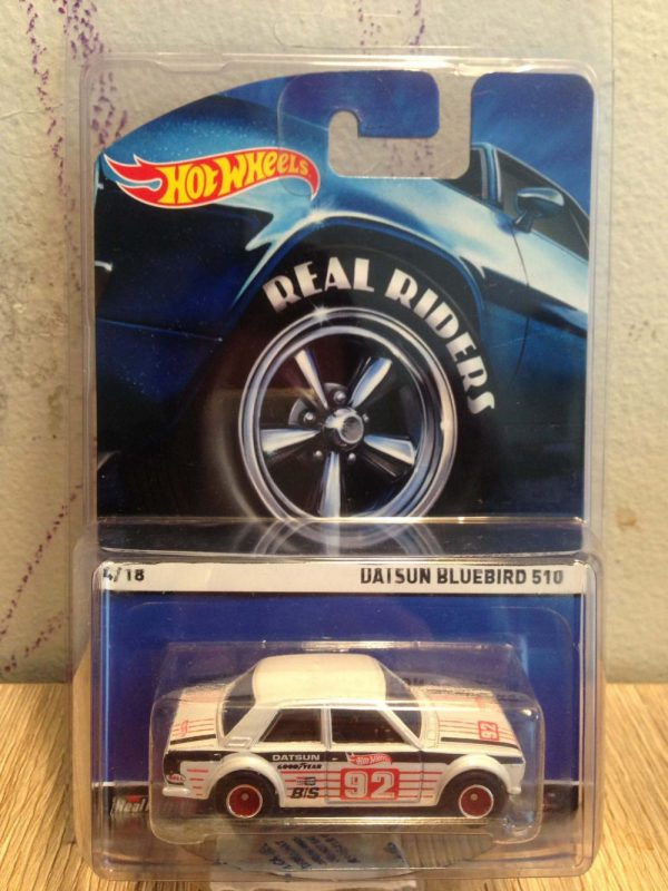 Hot Wheels Langka Datsun Bluebird 510 Real Riders