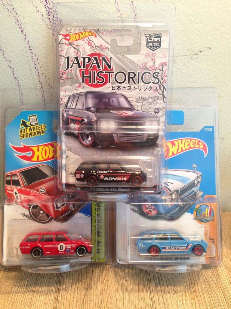 Hot Wheels Langka Datsun Bluebird 510 Wagon - Diecasnesia
