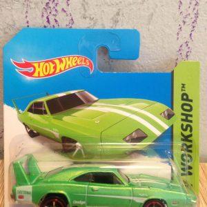 Hot Wheels Langka Dodge Charger Daytona Shortcard