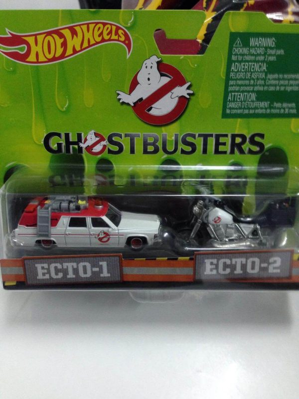 Hot Wheels Langka Ghostbusters Ecto 1 Ecto 2