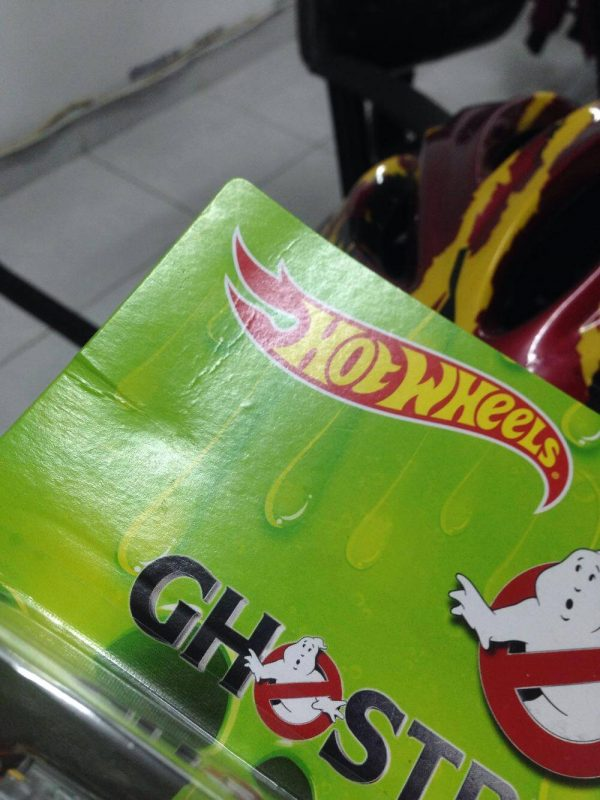Hot Wheels Langka Ghostbusters Ecto 1 Ecto 2 ada kerut