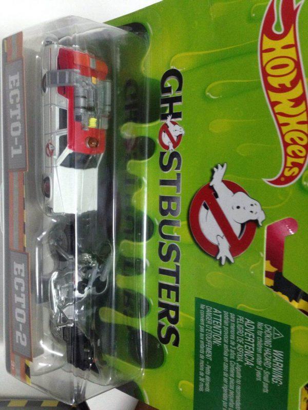 Hot Wheels Langka Ghostbusters Ecto 1 Ecto 2 tampak atas