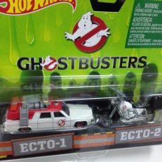 Hot Wheels Langka Ghostbusters Ecto 1 dan Ecto 2