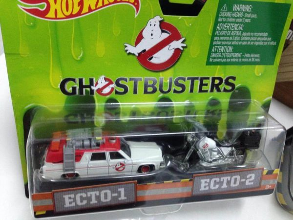 Hot Wheels Langka Ghostbusters Ecto 1 dan Ecto 2