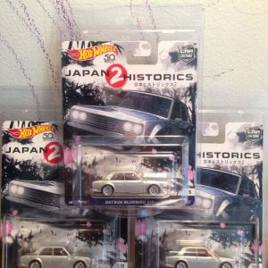 Hot Wheels Langka Japan Historics Datsun BlueBird 510