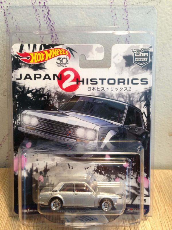 Hot Wheels Langka Japan Historics Datsun BlueBird 510 protector
