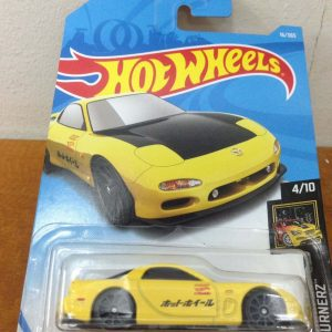 Hot Wheels Langka Mazda RX-7 Kuning