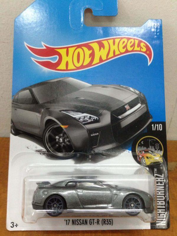 Hot Wheels Langka Nissan GT-R R35