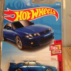 Hot Wheels Langka Nissan Skyline GT-R R33