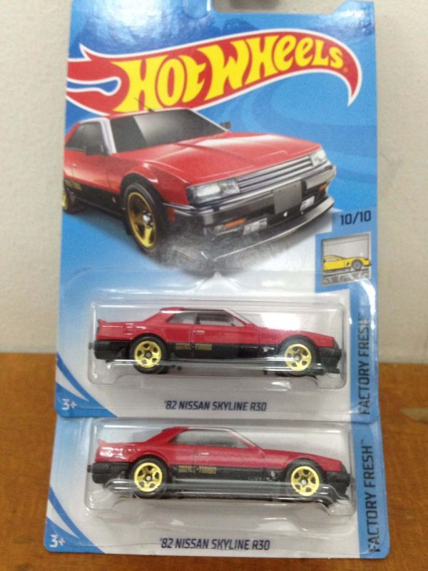 Hot Wheels Langka Nissan Skyline R30 DIecasnesia