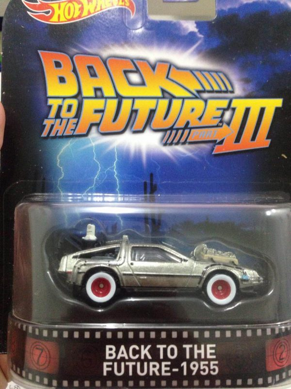 Hot Wheels Langka Retro Entertainment back to the future 1955