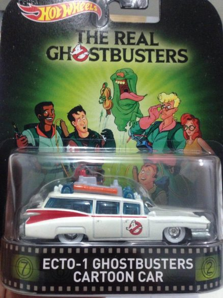 Hot Wheels Langka Retro Entertainment ghostbusters cartoon car