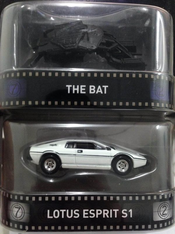 Hot Wheels Langka Retro Entertainment the bat dan james bond lotus S1