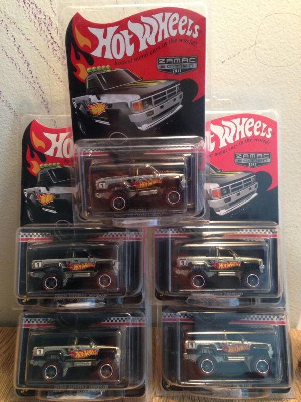 Hot Wheels Langka Toyota Pickup Zamac Edition 2017