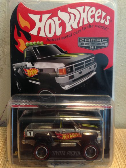 Hot Wheels Langka Toyota Pickup Zamac Edition