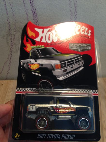 Hot Wheels Langka Toyota Pickup Zamac Edition tanpa protector