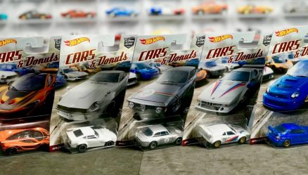 Mobil Hot Wheels Langka Cars & Donuts Complete
