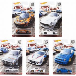 Mobil Hot Wheels Langka Cars & Donuts Complete Series