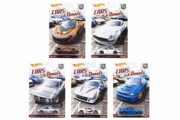 Mobil Hot Wheels Langka Cars & Donuts Complete Series